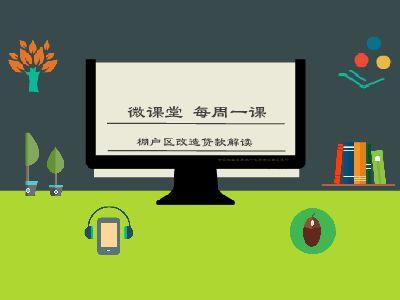 微课堂棚改贷款解读 幻灯片制作软件