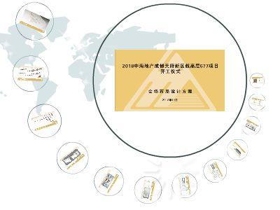 2018中海地产成都天府新区超高层677项目策划方案 幻灯片制作软件