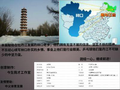 2017第三届林口老乡杯乒乓球友谊赛(第二版) 幻灯片制作软件