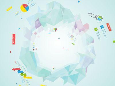 创意几何新建的Focusky 幻灯片制作软件