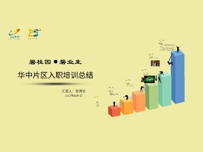 张博伦集团入职培训总结Flash版 幻灯片制作软件