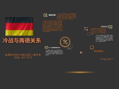 冷战与两德关系 幻灯片制作软件