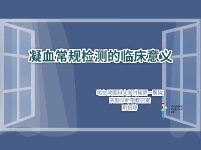 凝血  邢银婷 幻灯片制作软件