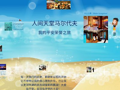 马尔代夫之旅 幻灯片制作软件