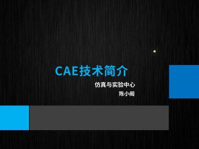 CAE技术简介