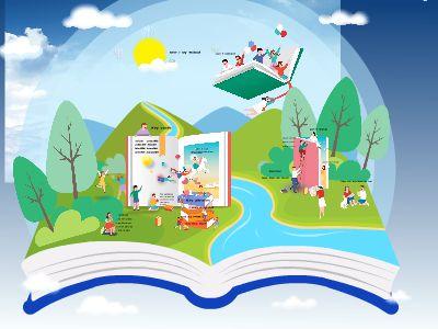 幼小初级英语通用模板 幻灯片制作软件