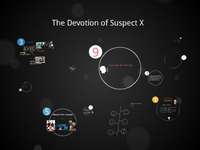 the devotion of suspect x 幻灯片制作软件
