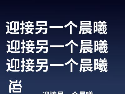 XXXX 幻灯片制作软件