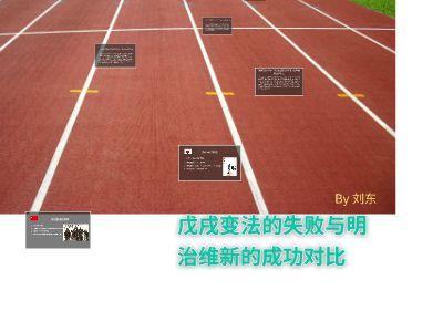 戊戌变法的失败与明治维新的成功对比 幻灯片制作软件