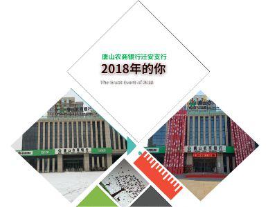 唐山农商银行迁安支行2018年清单 PPT制作软件