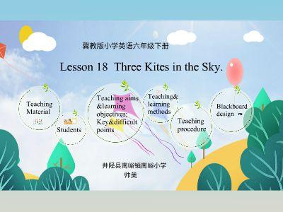 Lesson18 Three Kites in the Sky(64位)
