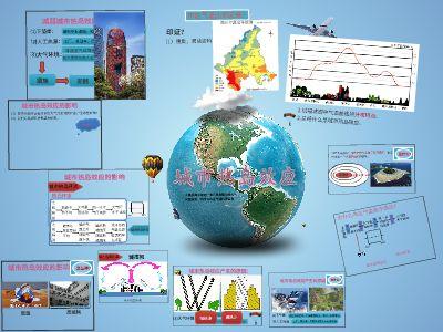 城市热岛效应fs 幻灯片制作软件