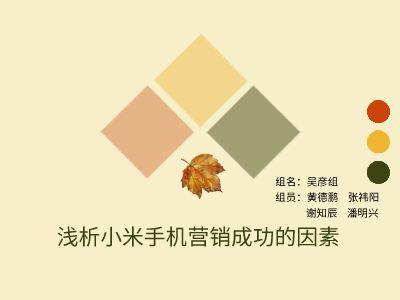 小米 幻灯片制作软件