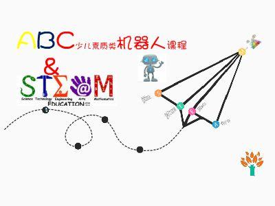 ABC少儿素质类机器人实验课程 幻灯片制作软件