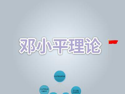 邓小平理论 幻灯片制作软件