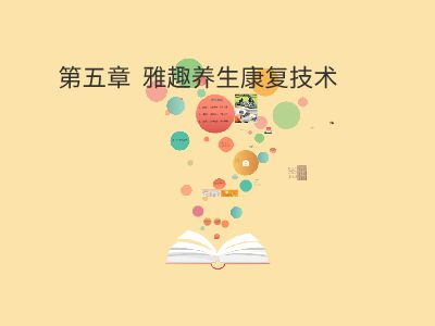 雅趣养生康复技术 幻灯片制作软件