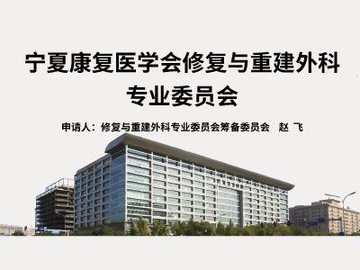 20180315修复与重建外科专业委员会申请PPT 幻灯片制作软件
