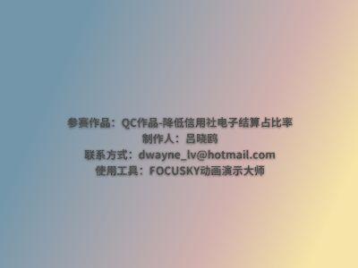 2019年QC课题