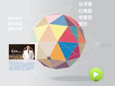 台湾菲仕美医学美容整形 幻灯片制作软件