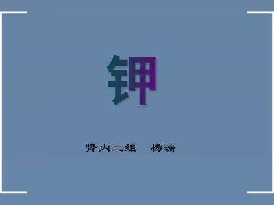 钾(1) 幻灯片制作软件