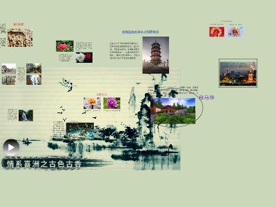 思政作业之介绍一个城市 幻灯片制作软件