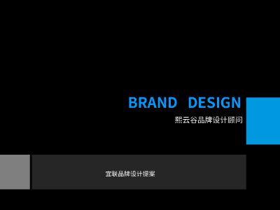 Y.宜联LOGO提案 幻灯片制作软件