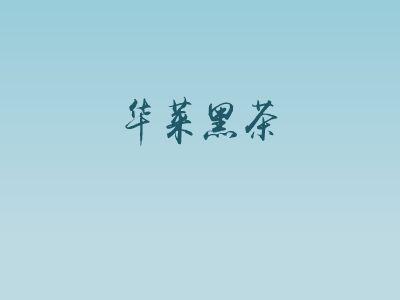 华莱黑茶 幻灯片制作软件