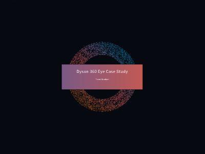 Dyson 360 Eye 幻灯片制作软件