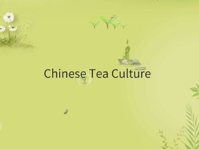 中国茶文化 幻灯片制作软件