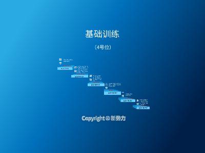 新势力训练(4号位) 幻灯片制作软件