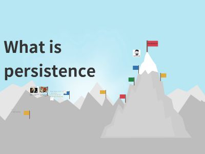 WHAT IS PERSISTENCE PPT制作软件